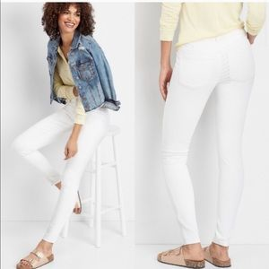 Maurices | white skinny jeans